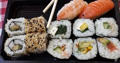 sushi as weight loss diet